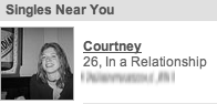 Singles Near You: Courtney, 26, In a Relationship