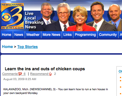 Learn the ins and outs of chicken coups